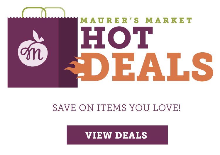 Maurer's Market Great Deals on Groceries